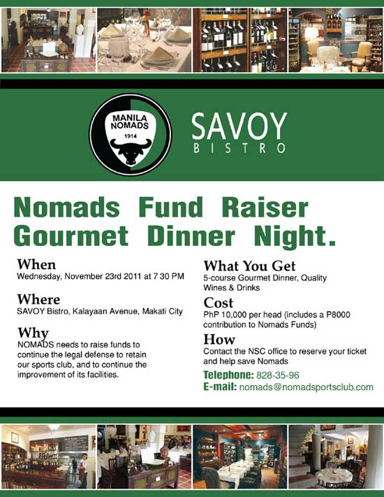Fund-raising Gourmet Night