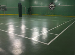 Badminton Court Upgrade